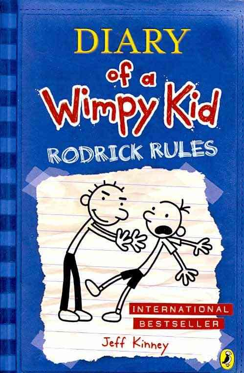 DIARY OF A WIMPY KID - RODRICK RULES KINNEY, JEFF PUFFIN BOOKS