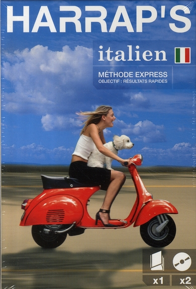 HARRAP'S METHODE EXPRESS ITALIEN LIVRE + 2 CD COLLECTIF LAROUSSE