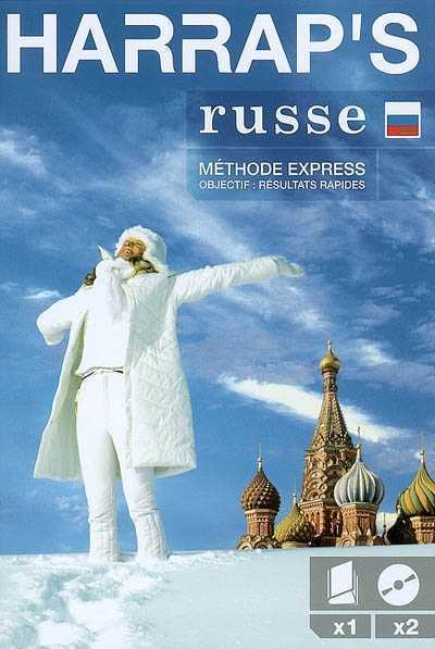 HARRAP'S METHODE EXPRESS RUSSE LIVRE + 2 CD COLLECTIF LAROUSSE