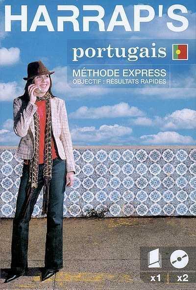 HARRAP'S METHODE EXPRESS PORTUGAIS LIVRE + 2 CD COLLECTIF LAROUSSE