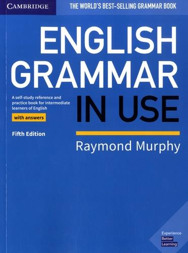 NEW ENGLISH GRAMMAR IN USE 5TH EDITION - BOOK WITH ANSWERS MURPHY, RAYMOND NC