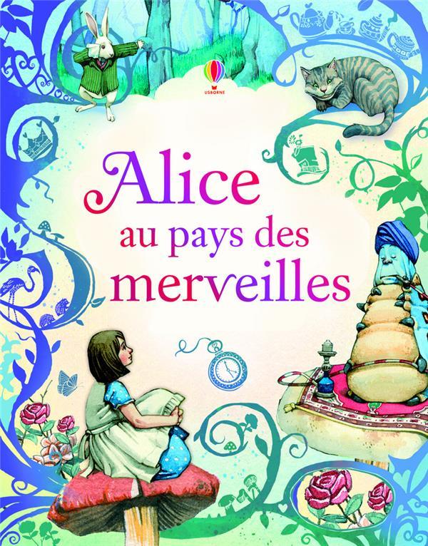 ALICE AU PAYS DES MERVEILLES  -  TEXTE INTEGRALE CARROLL/PARRENO Usborne