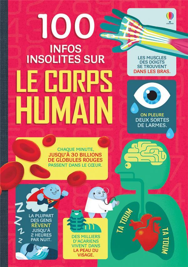 100 INFOS INSOLITES SUR LE CORPS HUMAIN COLLECTIF NC