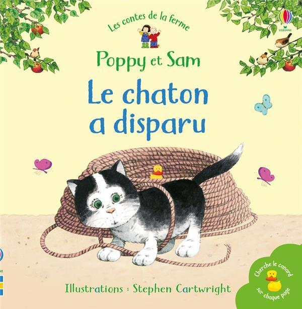 POPPY ET SAM  -  LE CHATON A DISPARU AMERY/CARTWRIGHT NC