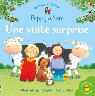 POPPY ET SAM  -  UNE VISITE SURPRISE