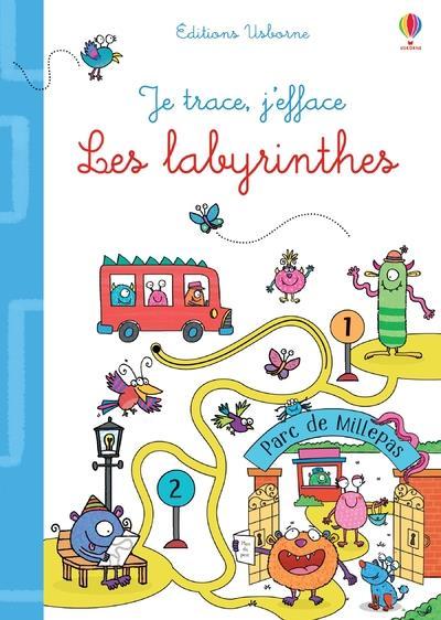 JE TRACE, J'EFFACE  -  LES LABYRINTHES