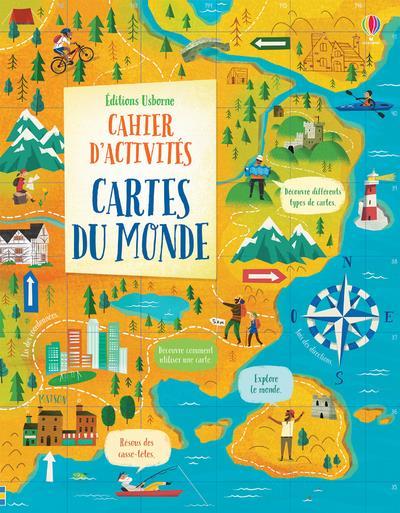 CARTES DU MONDE  -  CAHIERS D'ACTIVITES