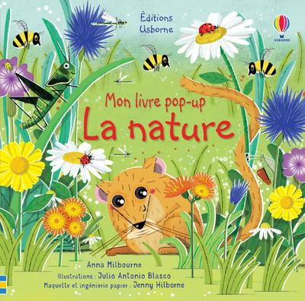 LA NATURE  -  MON LIVRE POP-UP -