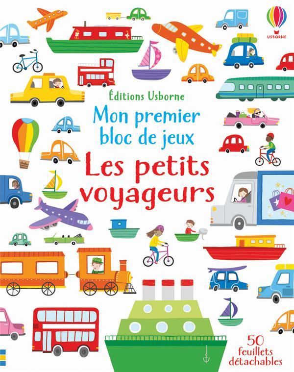 MON PREMIER BLOC DE JEUX  -  LES PETITS VOYAGEURS ROBSON/COLLECTIF NC