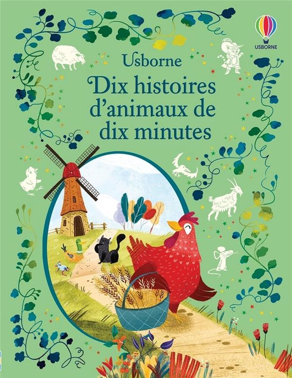 LES ANIMAUX  -  DIX CONTES DE DIX MINUTES COLLECTIF NC