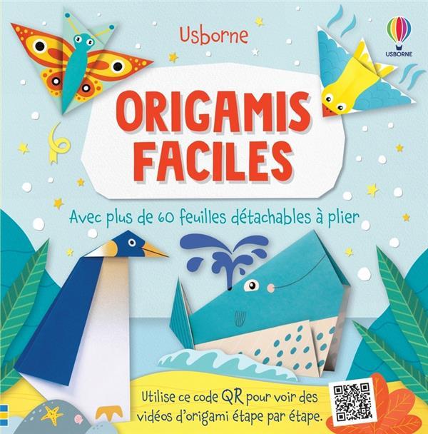 ORIGAMIS FACILES  -  AVEC PLUS DE 60 FEUILLES DETACHABLES A PLIER WHEATLEY, ABIGAIL  NC