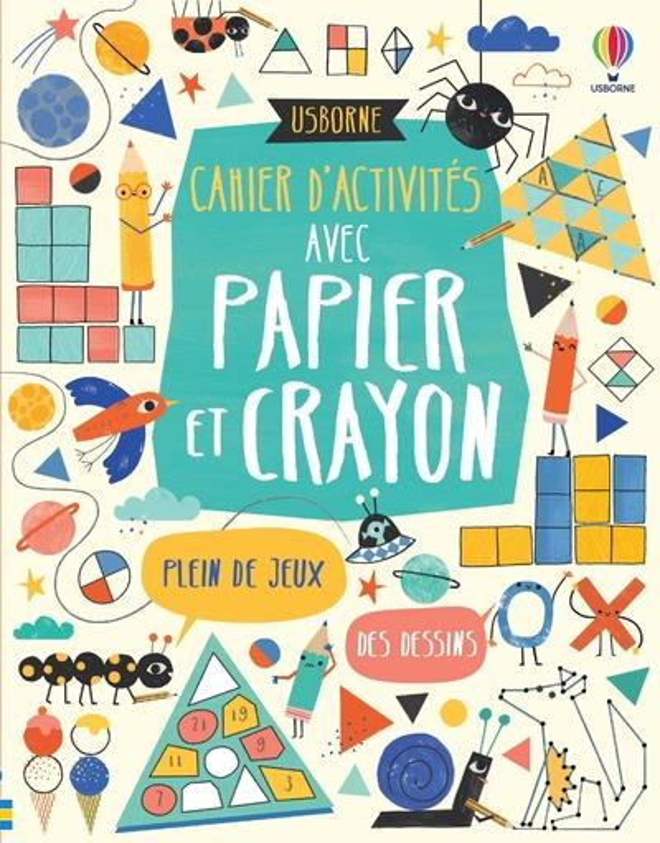 CAHIER D'ACTIVITES AVEC PAPIER ET CRAYON MACLAINE, JAMES  NC
