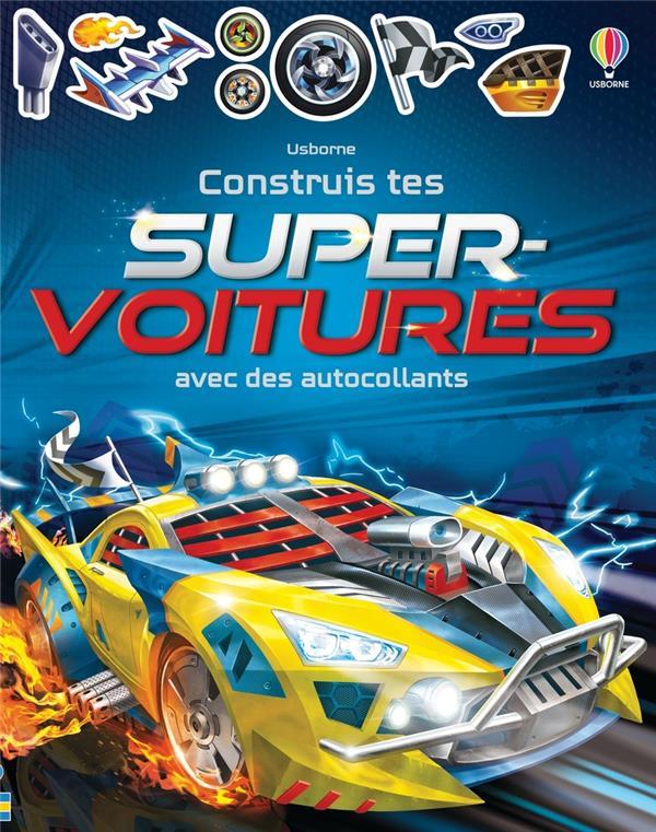 CONSTRUIS TES SUPER-VOITURES AVEC DES AUTOCOLLANTS TUDHOPE, SIMON NC
