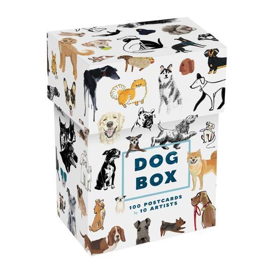 DOG BOX : 100 POSTCARDS BY 10 ARTISTS