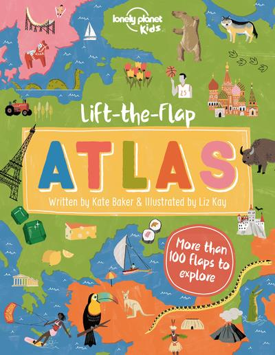 LIFT-A-FLAP ATLAS (EDITION 2020) COLLECTIF NC