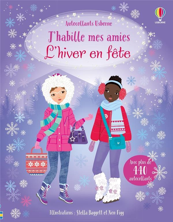 J'HABILLE MES AMIES  -  L'HIVER EN FETE