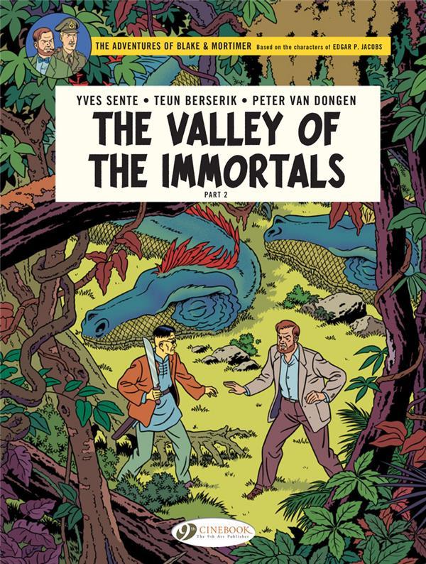 BLAKE ET MORTIMER T.26  -  THE VALLEY OF THE IMMORTALS T.2 SENTE/VAN DONGEN NC