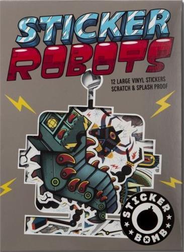 STICKER ROBOTS /ANGLAIS STUDIO RAREKWAI (SRK LAURENCE KING