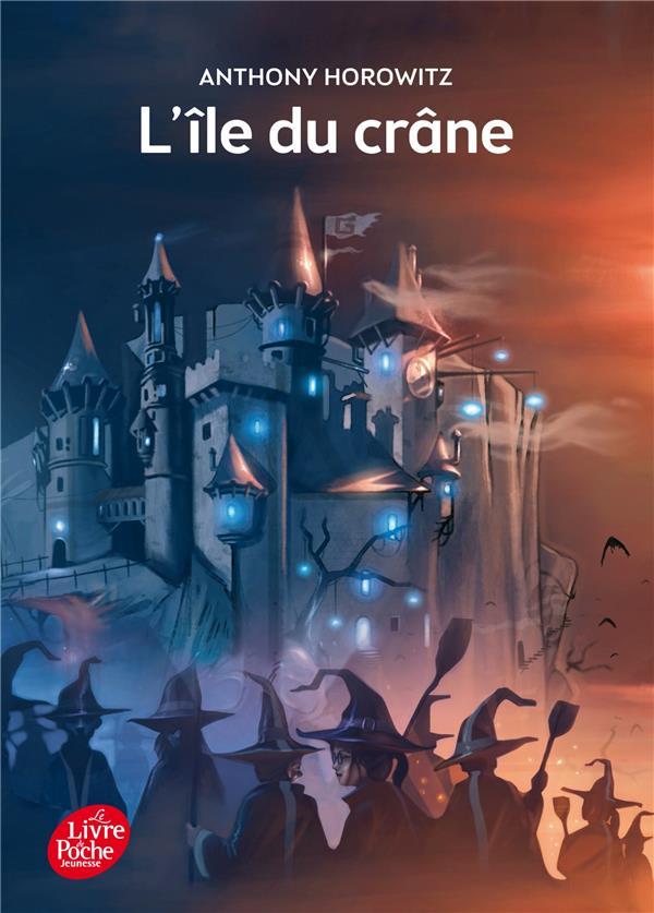 DAVID ELIOT - TOME 1 - L'ILE DU CRANE Horowitz Anthony Le Livre de poche jeunesse