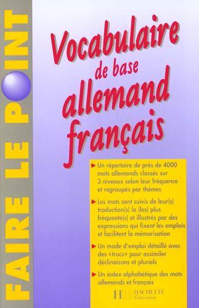 VOCABULAIRE DE BASE ALL FRAN
