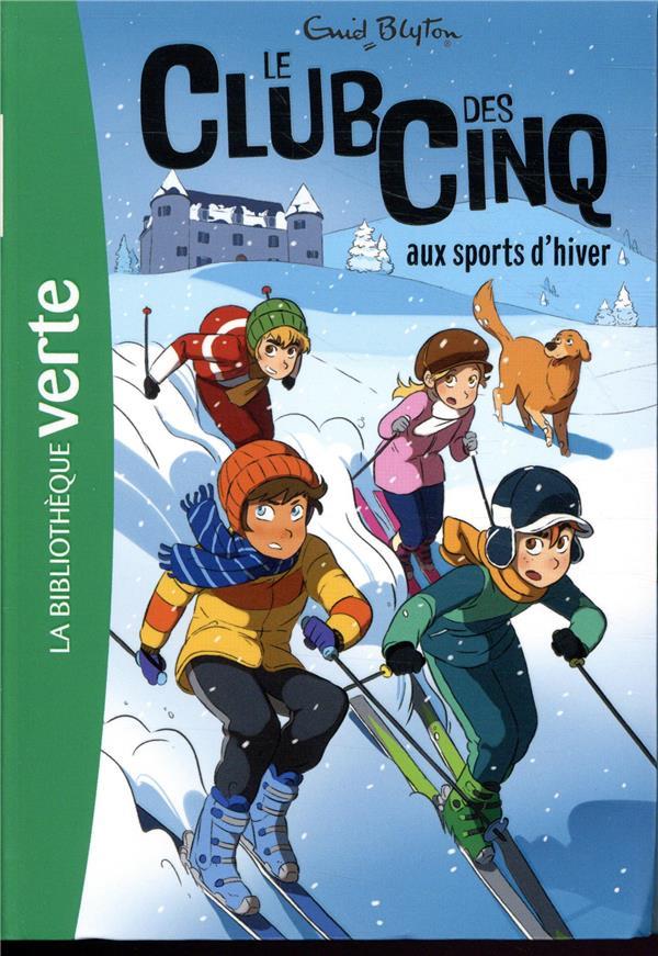 LE CLUB DES CINQ T.9  -  LE CLUB DES CINQ AUX SPORTS D'HIVER  HACHETTE