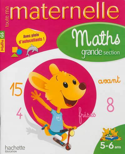 MATHS MATERNELLE GRANDE SECTION XXX HACHETTE