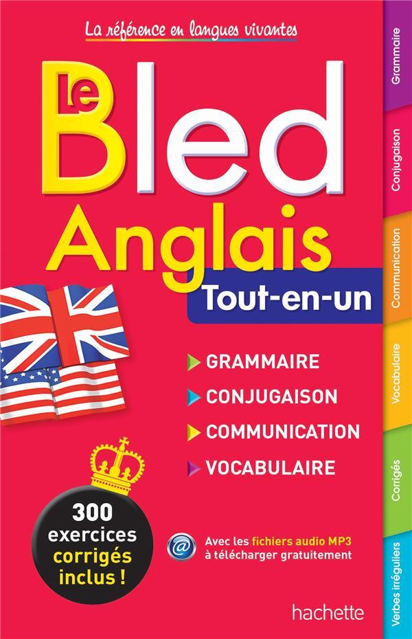 BLED ANGLAIS Pierret-Lallement Nathalie Hachette Education