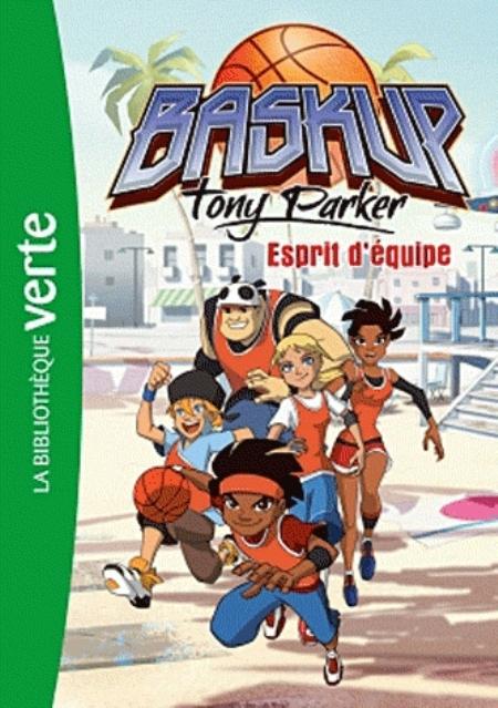 BASKUP TONY PARKER 03 - ESPRIT D'EQUIPE CHATEL CHRISTELLE HACHETTE