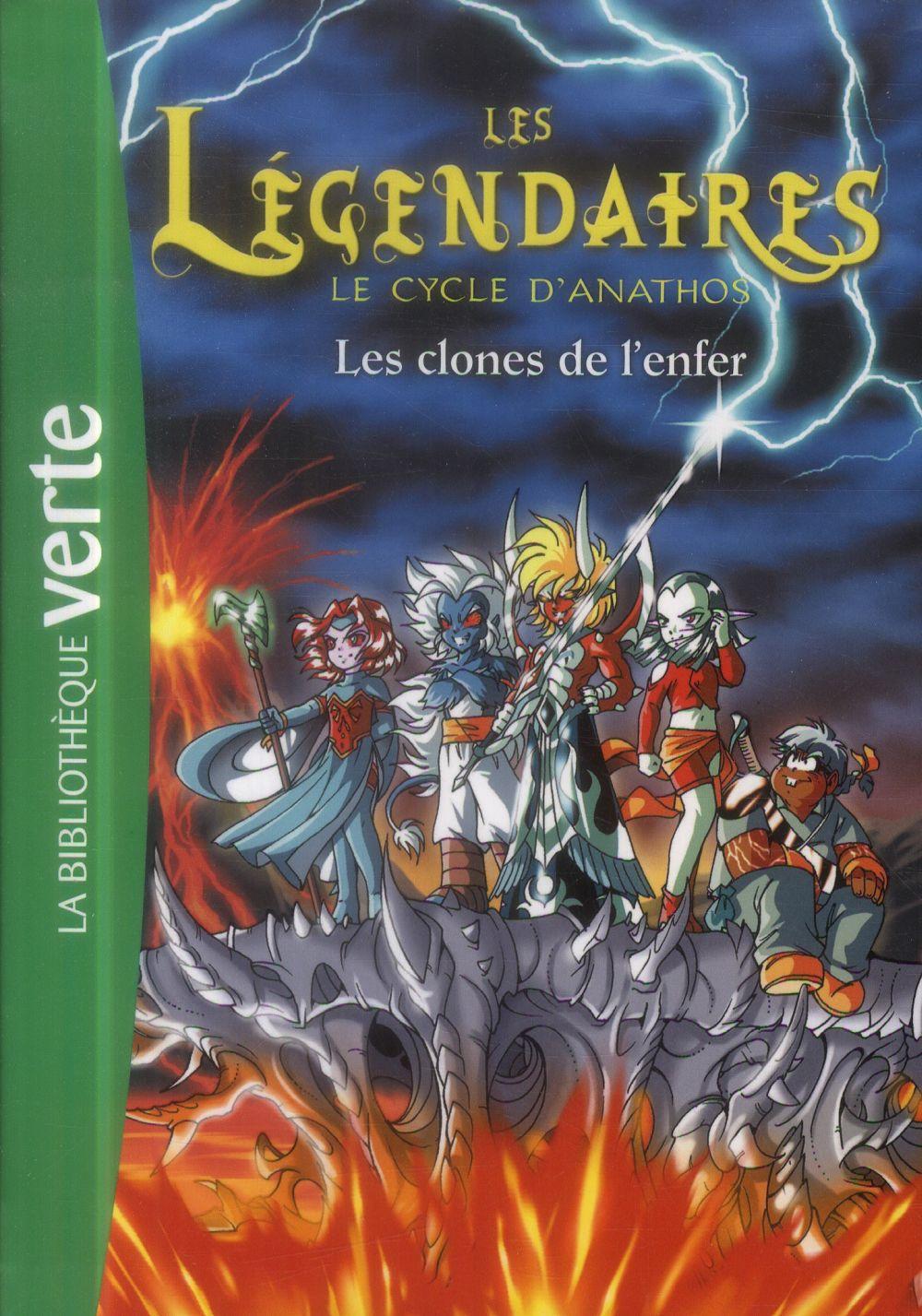 LES LEGENDAIRES - T11 - LES LEGENDAIRES 11 - LES CLONES DE L'ENFER Jarry Nicolas Hachette Jeunesse