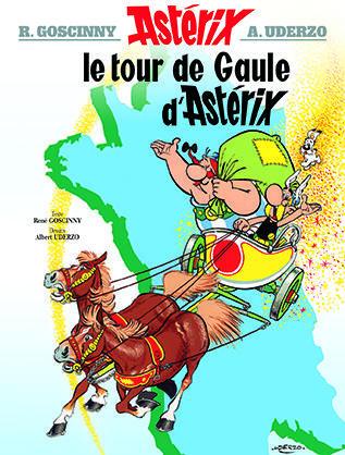 ASTERIX T.5  -  LE TOUR DE GAULE D'ASTERIX