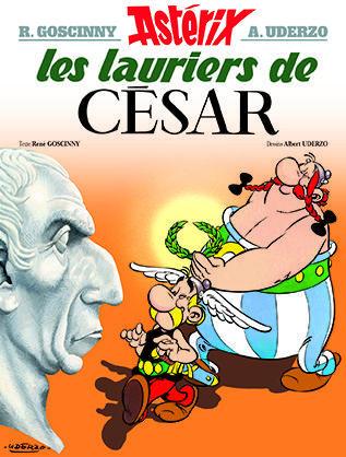 ASTERIX T.18  -  LES LAURIERS DE CESAR
