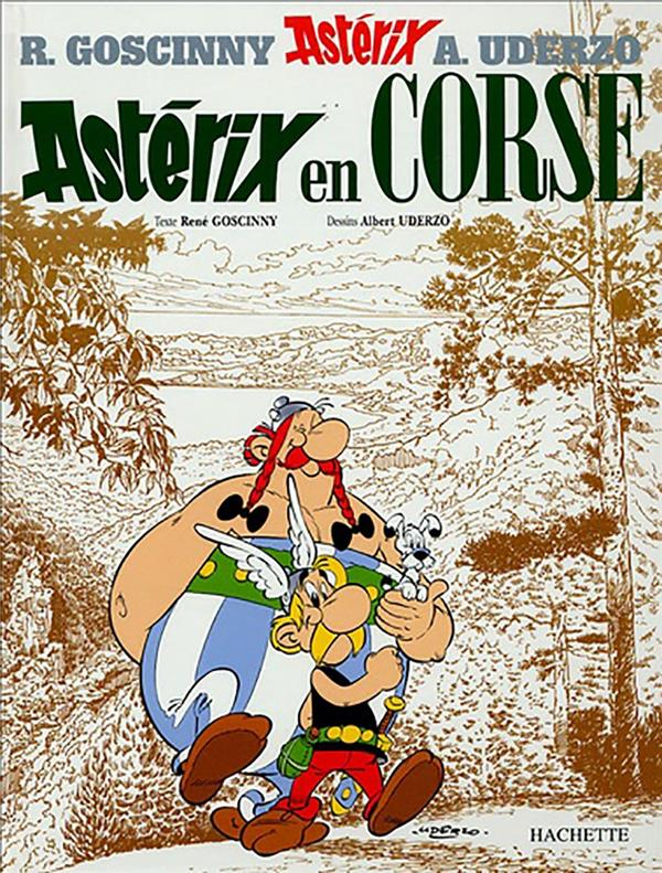 ASTERIX T.20  -  ASTERIX EN CORSE