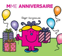 MADAME ANNIVERSAIRE HARGREAVES R HACHETTE