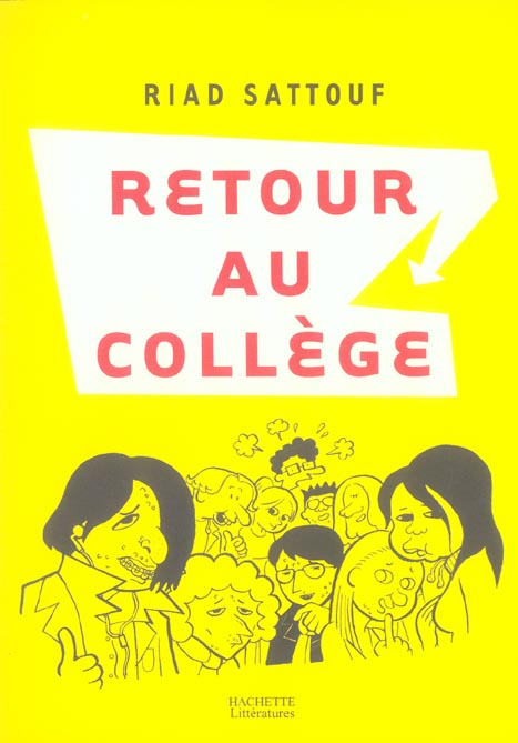 RETOUR AU COLLEGE SATTOUF RIAD HACHETTE
