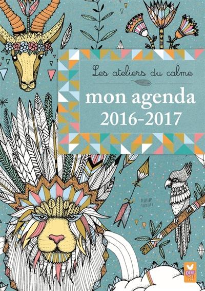 ADC MON AGENDA A COLORIER 2016-2017 LILI LA BALEINE Deux coqs d'or