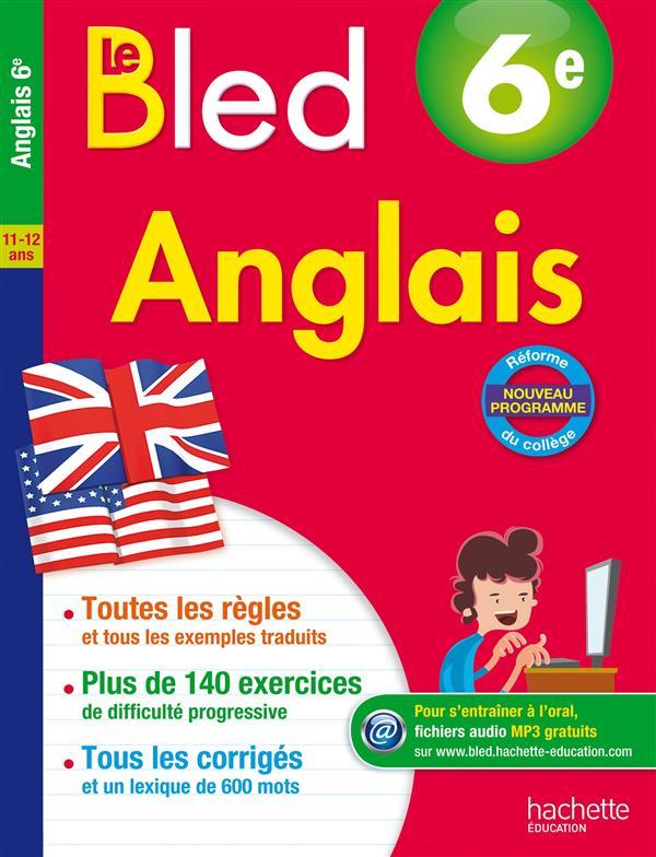 CAHIER BLED - ANGLAIS 6E
