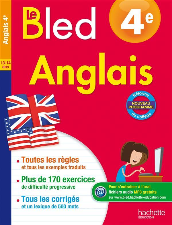 CAHIERS BLED  -  ANGLAIS  -  4EME MICHOUX ANDRE Hachette Education
