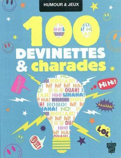 100 DEVINETTES ET CHARADES VANDENBROUCKE MARION HACHETTE