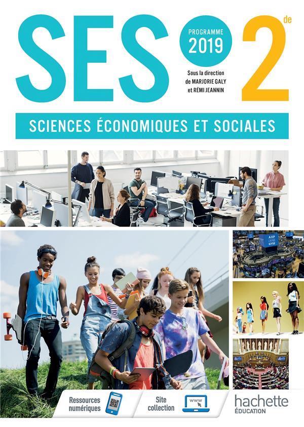 SES  -  2NDE  -  LIVRE DE L'ELEVE (EDITION 2019) XXX NC