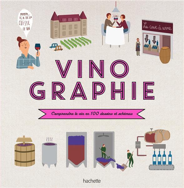 VINOGRAPHIE DARRIEUSSECQ, FANNY Hachette Pratique