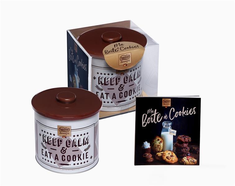 COFFRET BOITE A COOKIES NESTLE DESSERT