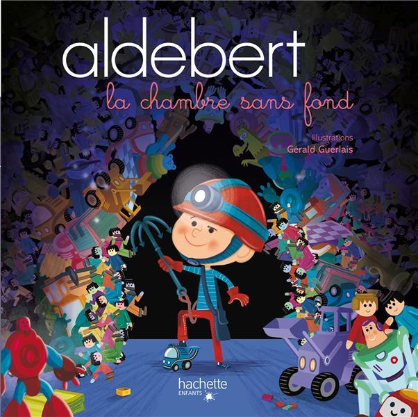 ALDEBERT RACONTE - LA CHAMBRE SANS FOND  LIVRE CD ALDEBERT HACHETTE