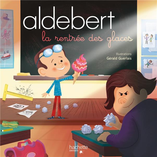 ALDEBERT RACONTE - LA RENTREE DES GLACES  LIVRE CD ALDEBERT HACHETTE