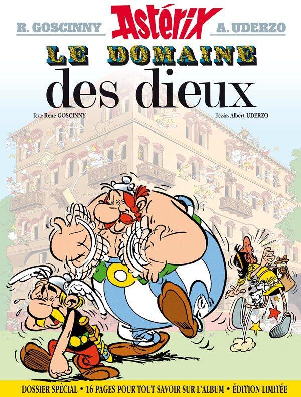 ASTERIX - LE DOMAINE DES DIEUX - VERSION SPECIALE