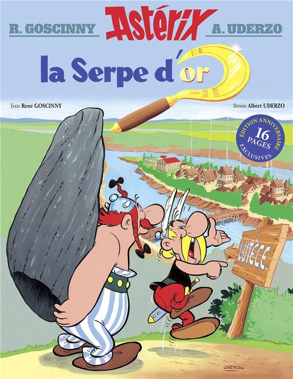 ASTERIX T.2  -  LA SERPE D'OR