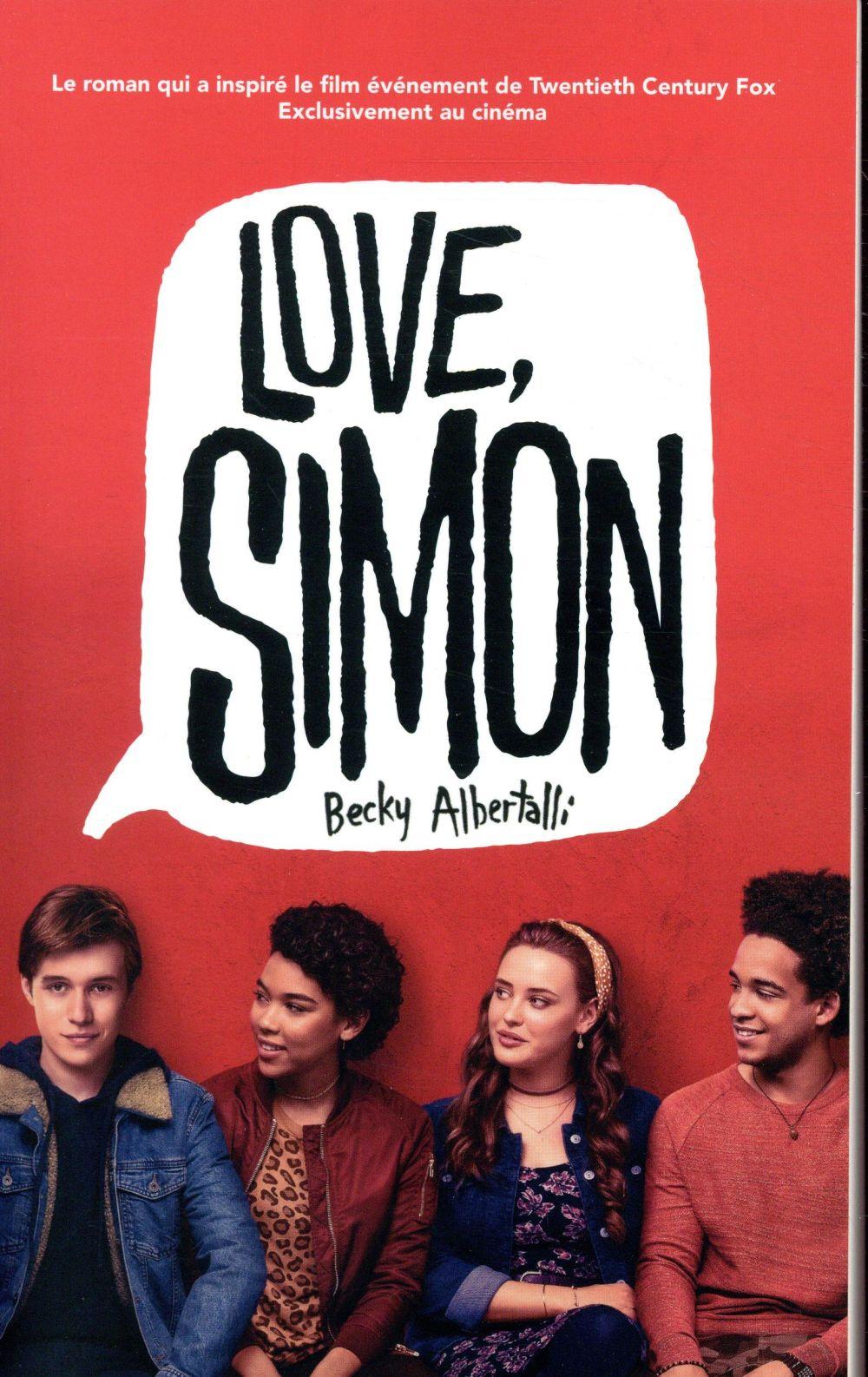 LOVE SIMON - TIE-IN (MOI, SIMON, 16 ANS, HOMO SAPIENS) ALBERTALLI BECKY HACHETTE