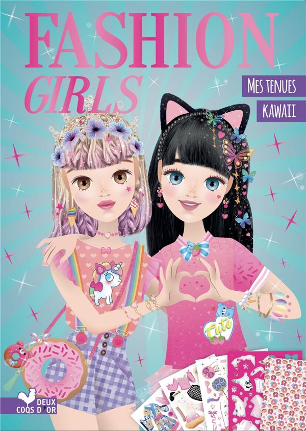 FASHION GIRLS  -  MES TENUES KAWAII BOISSON, MARIE-ROSE HACHETTE