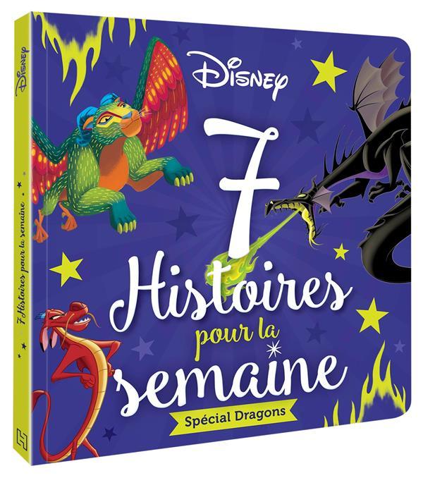 7 HISTOIRES POUR LA SEMAINE  -  SPECIAL DRAGONS XXX HACHETTE