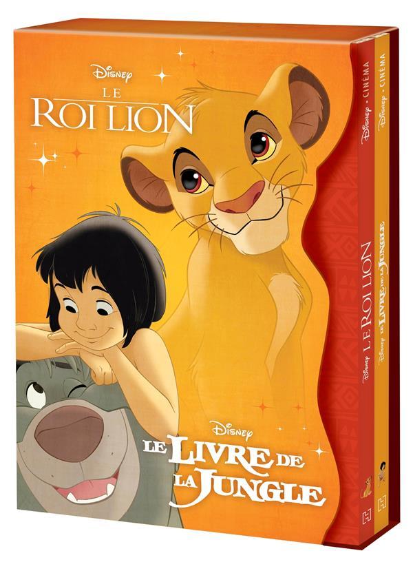LE ROI LION  -  LE LIVRE DE LA JUNGLE XXX HACHETTE