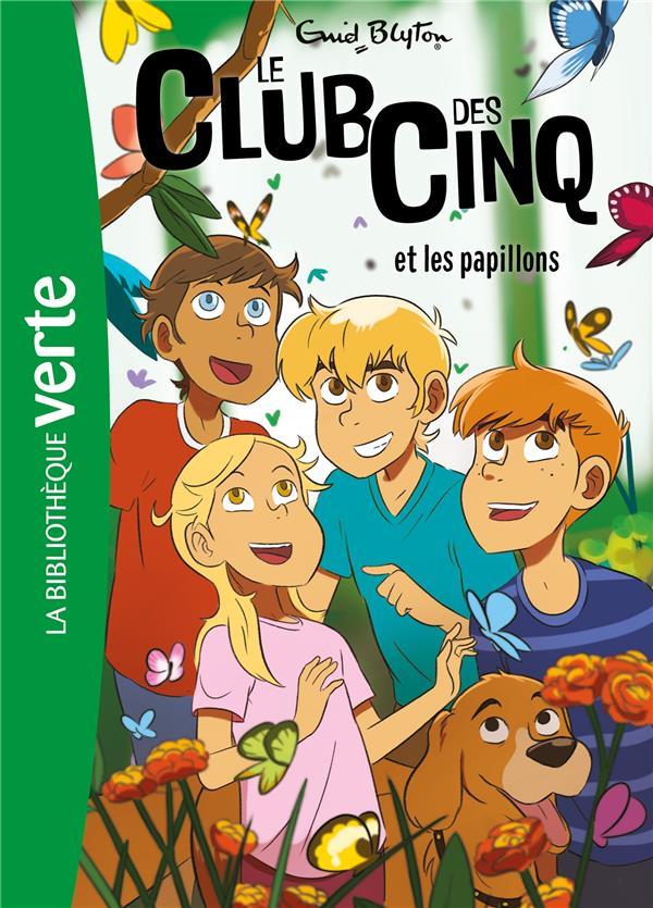 LE CLUB DES CINQ T.17  -  LE CLUB DES CINQ ET LES PAPILLONS BLYTON ENID HACHETTE